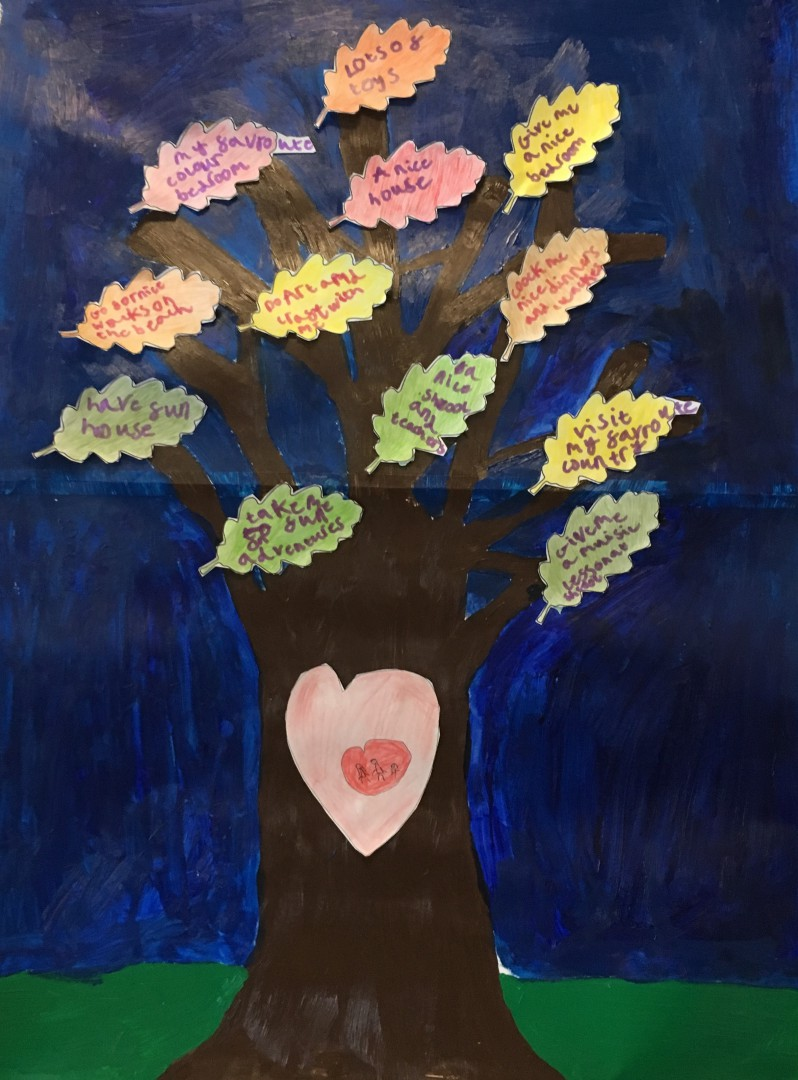 Children's wishing tree